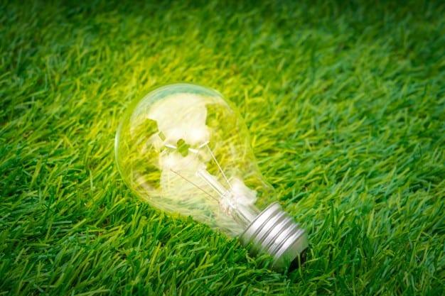 Bombilla led con la que economizar el consumo de electricidad